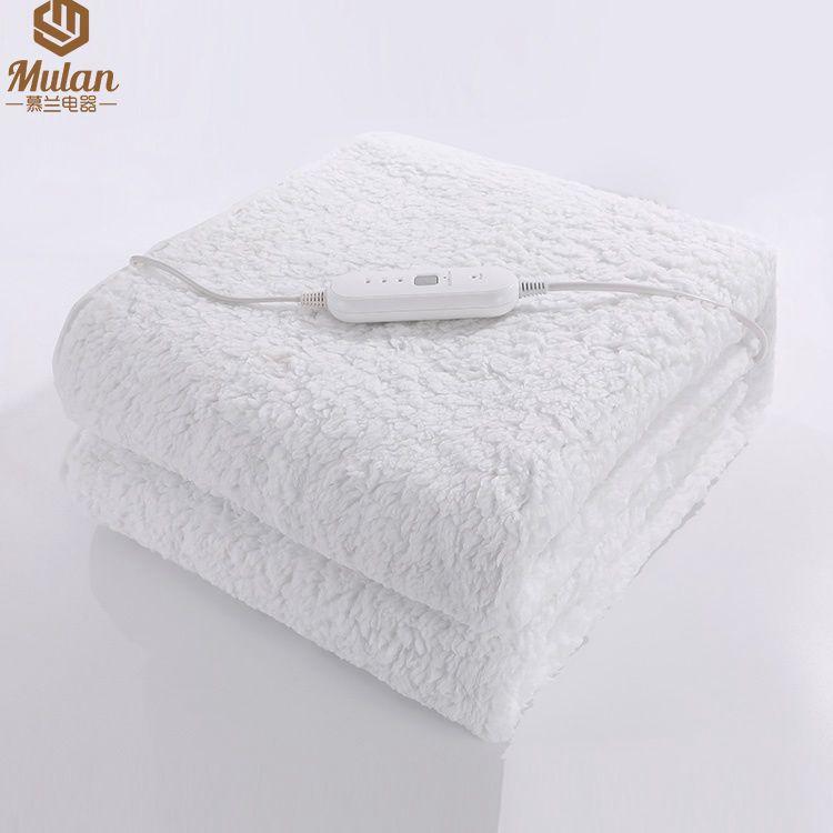 """Super thick luxury Cotton electric blanket for massage warmer table 30*73"""", 3 heating setting timer controller"""