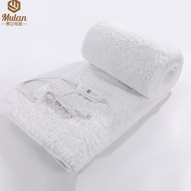 """Cotton blanket, heated electric throw blanket for massage warmer table pad 30*73"""""""