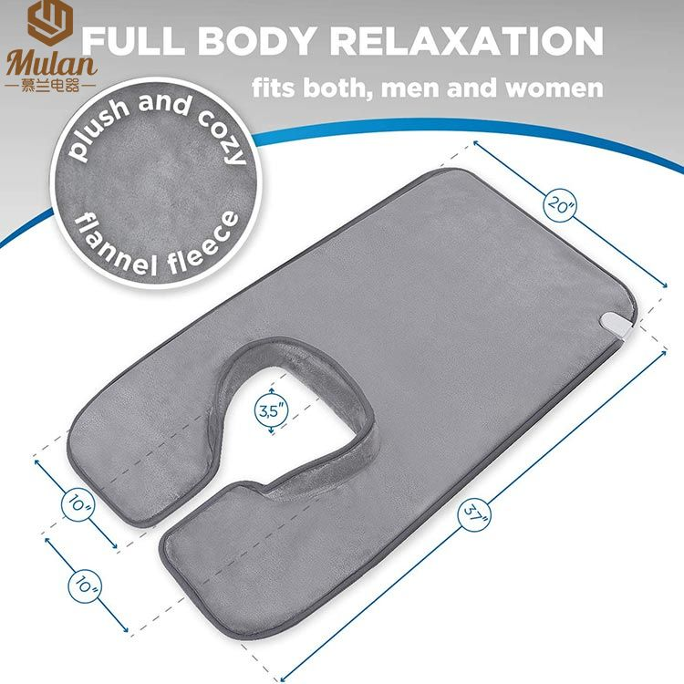 Neck & shoulder Therapy Wrap Electric heating pad /Heated Pad For Neck and Shoulder