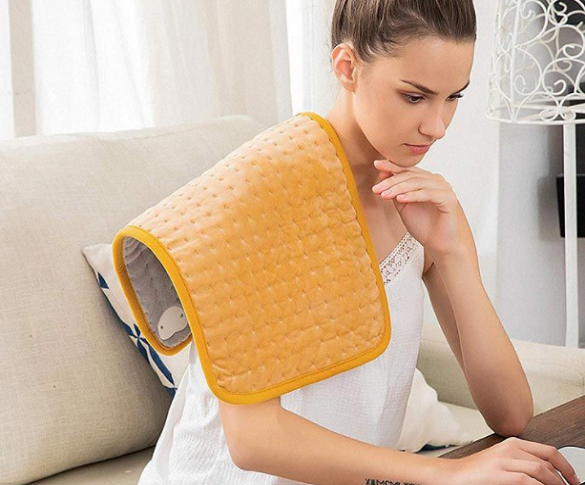 Stiff Shoulder and Back? You Need A Heat Pad